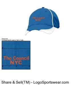 ITEM 6: NYCC Softball Full Cap - New Era Fitted Design Zoom